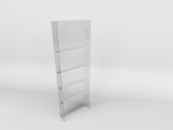 Acrylic Newspaper Rack