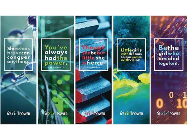 Girl Power Bookmarks