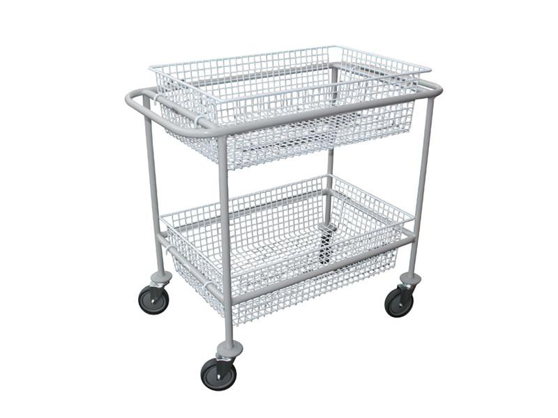 Large Basket Trolley