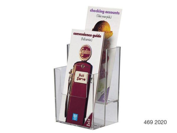 Dle Multi-Pocket Brochure Holders