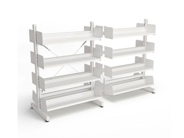 Intraspec Double-Sided Free Standing 1260Mm Fiction