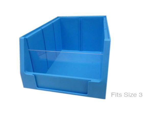 Stemstore Plastic Bin Front Retainer