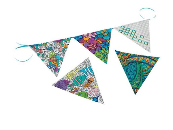 Colour Craze Book Review Pennants