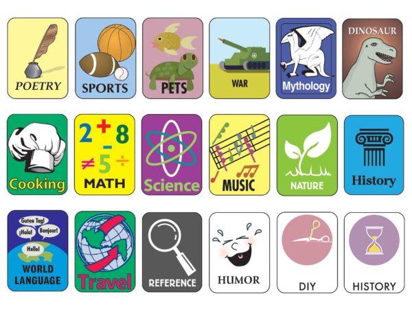 Non-Fiction Classification Labels