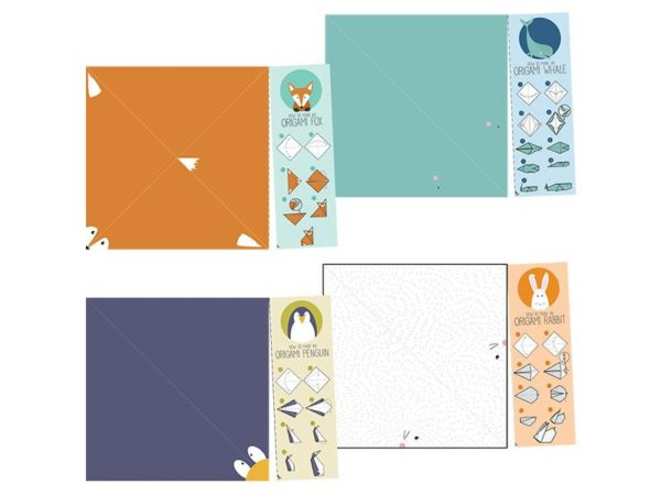 Origami Animal Activity Bookmarks - Set 1