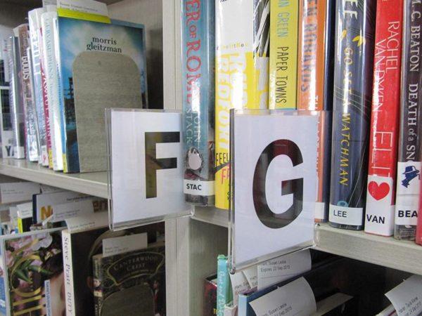 Acrylic Shelf Marker