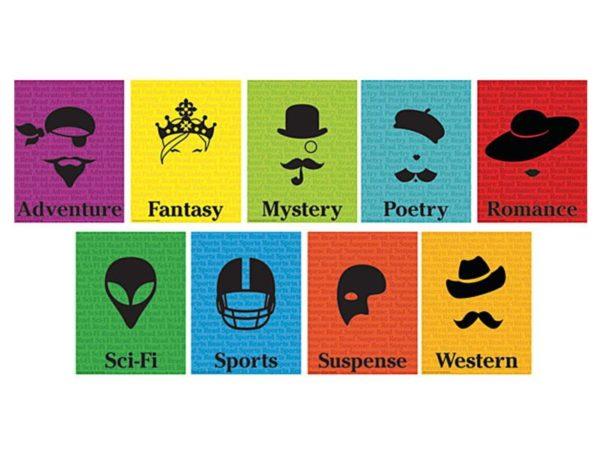 Silhouette Genre Mini Poster Set
