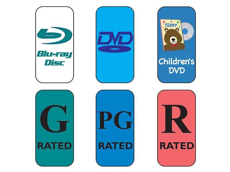 Skinny Multimedia Labels
